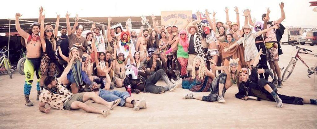 Houpla Burning Man Theme Camp - Houston Art Collective